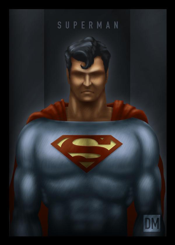 TCard - Superman by DanielMead