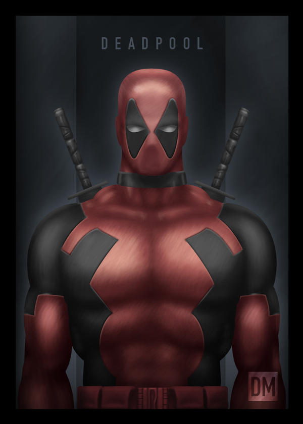 TCard - Deadpool by DanielMead