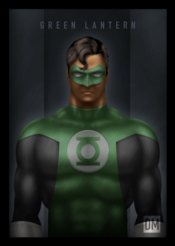 TCard - Green Lantern by DanielMead