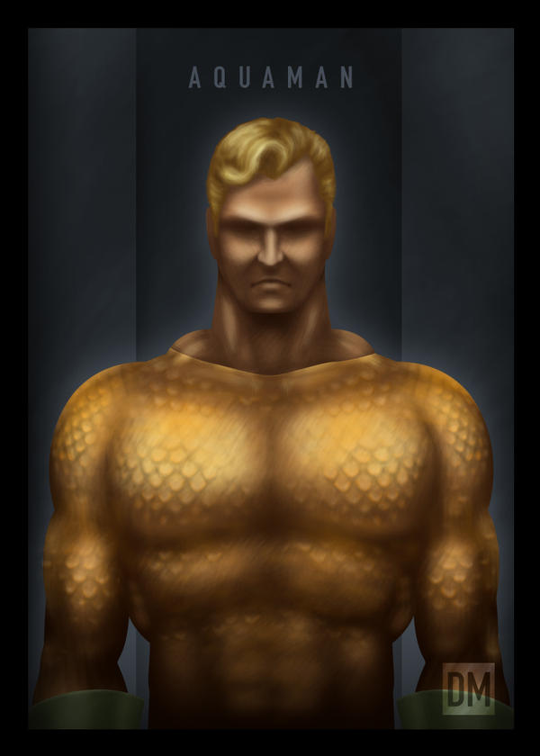 TCard - Aquaman by DanielMead
