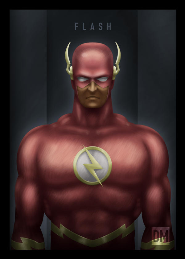 TCard - The Flash by DanielMead