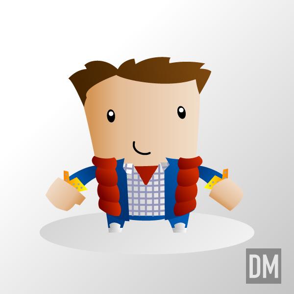 Marty McFly by DanielMead