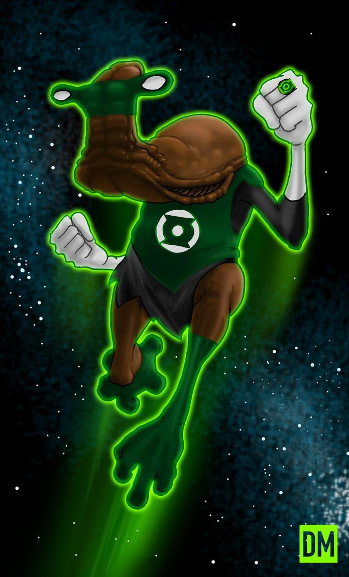 Ithorian Green Lantern by DanielMead