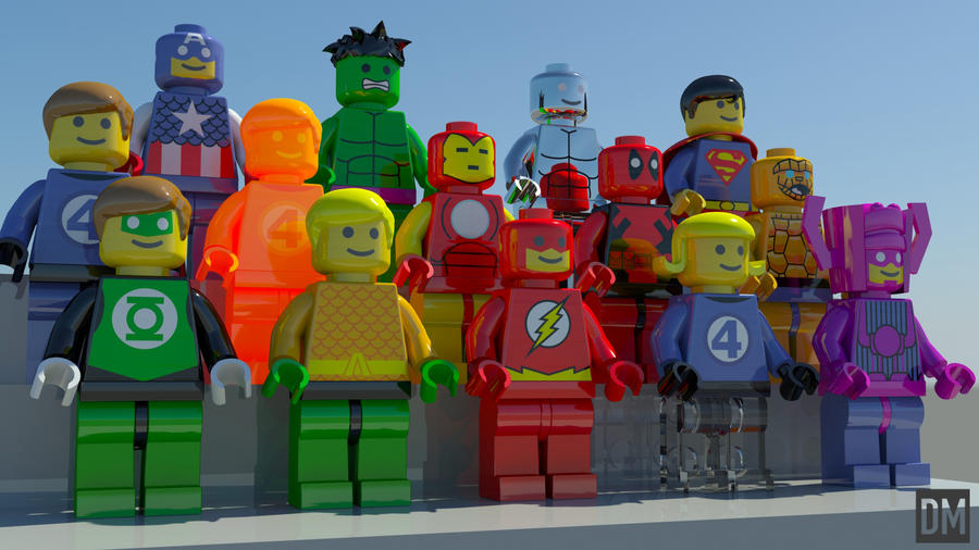 Super Mini Figs by DanielMead