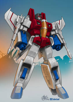 Colorized - Starscream