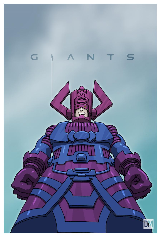 Giant - Galactus by DanielMead