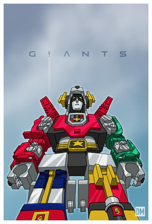 Giants - Voltron by DanielMead