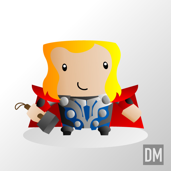Avengers Movie - Thor by DanielMead