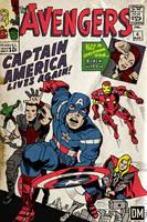 The Avengers #4 - Movie Adaptation by DanielMead