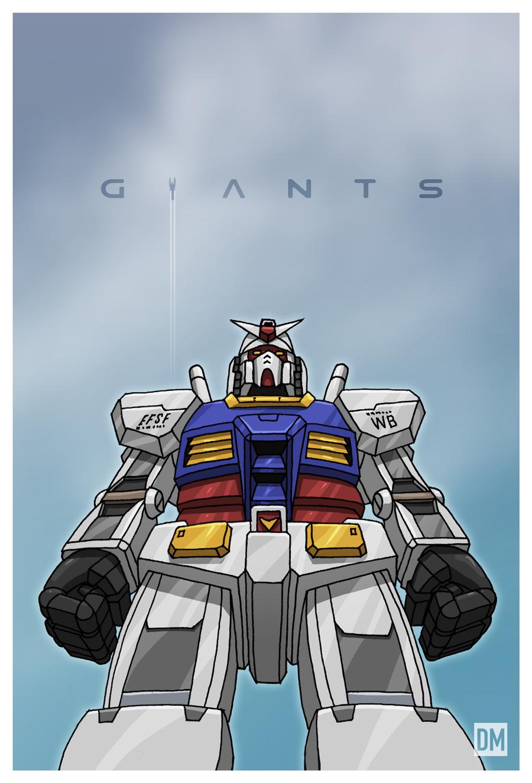 Giants - Mobile Suit Gundam by DanielMead