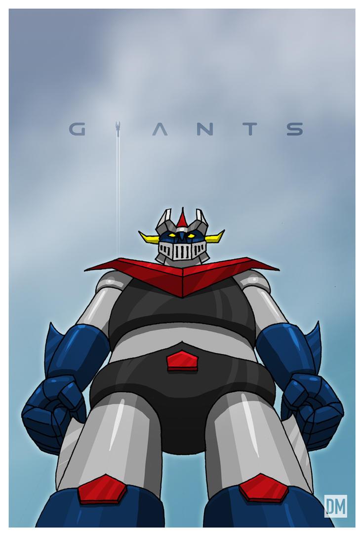Giants - Great Mazinger by DanielMead