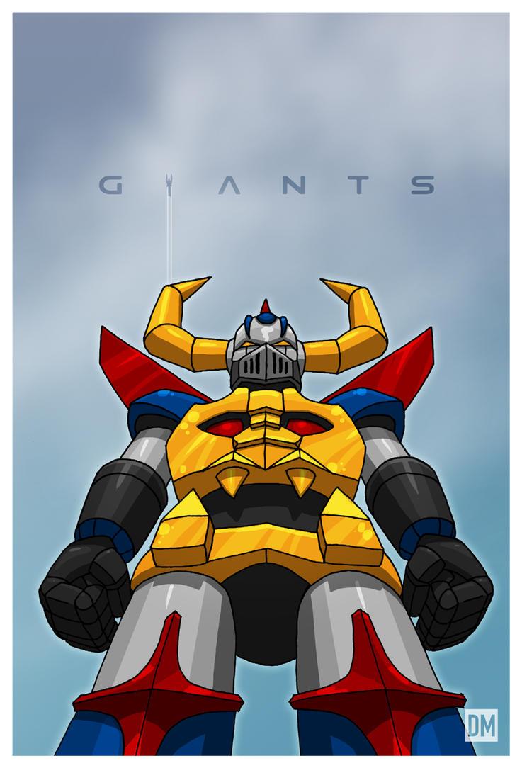 Giant - Gaiking by DanielMead