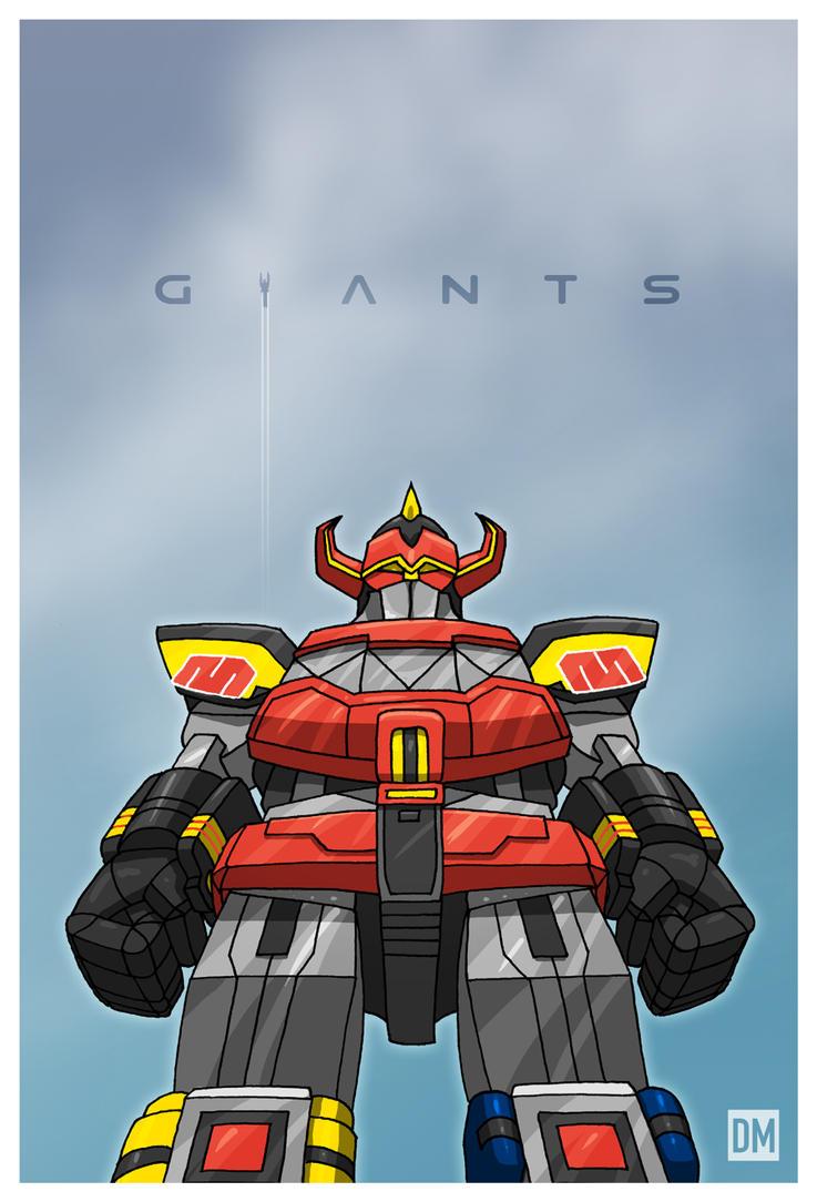 Giant - Mighty Morphin Megazord by DanielMead