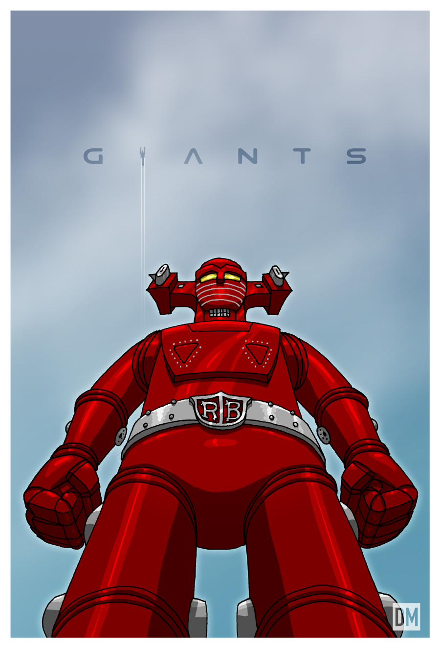 Giant - Super Robot Red Baron by DanielMead