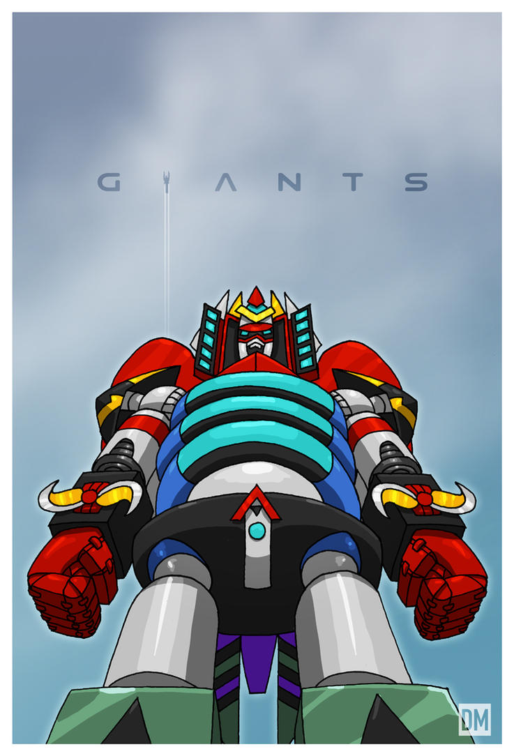 Giant - Robot God Akamatsu by DanielMead