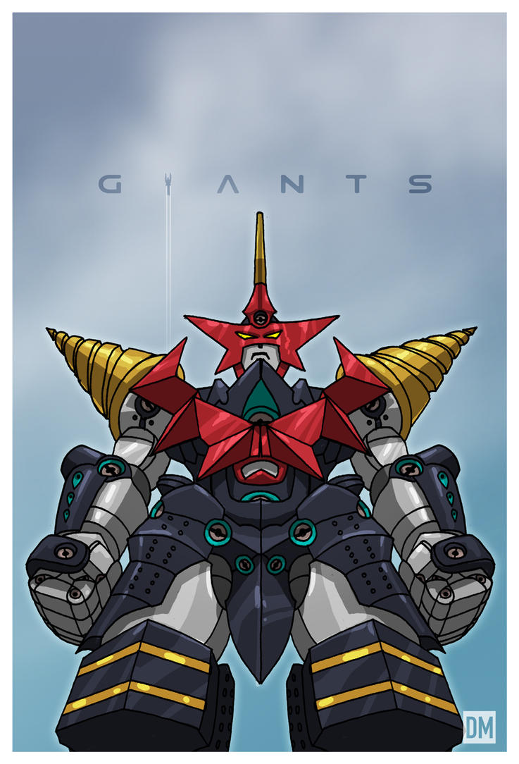 Giant - Super Galaxy Gurren Lagann by DanielMead