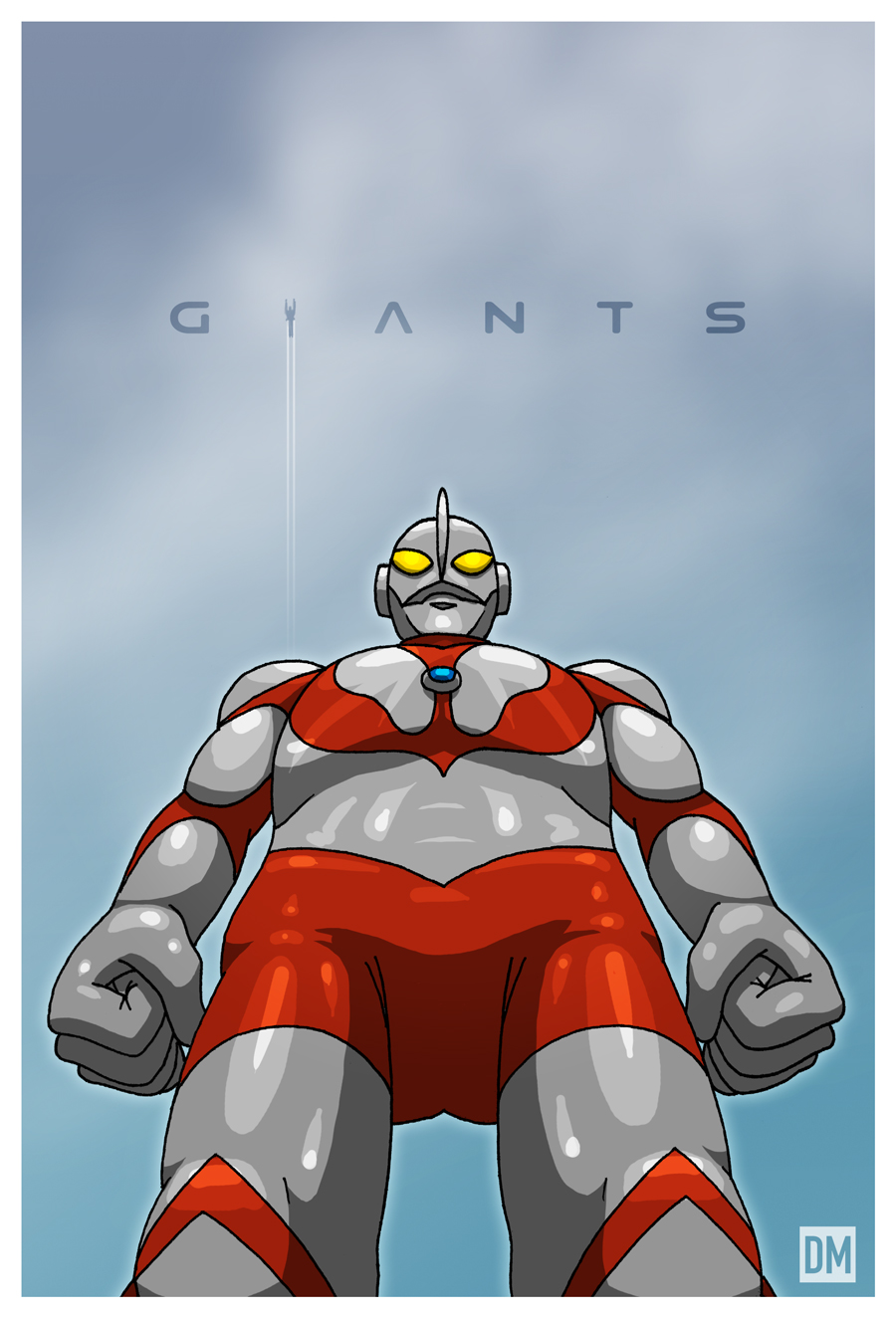 Giant - Ultraman by DanielMead