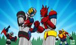 Grendizer vs. Getter Robo G