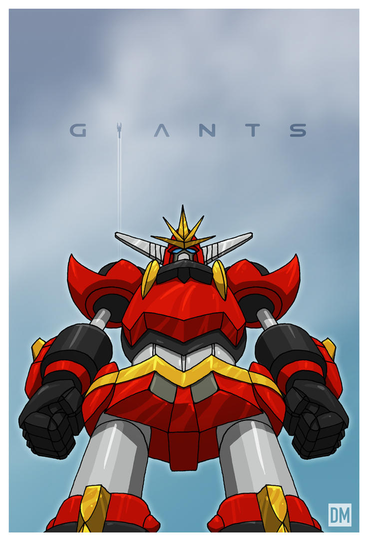 Giant - Super Robot Chogokin Dai Guard by DanielMead