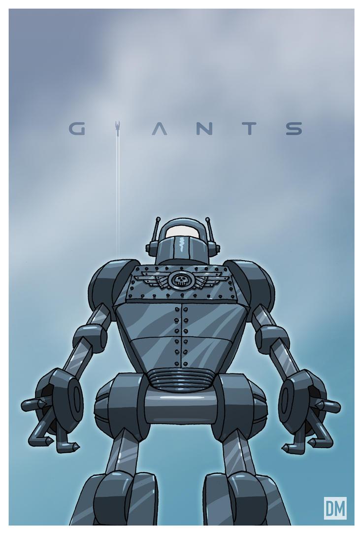 Giant - Sky Captain Giant Robot by DanielMead