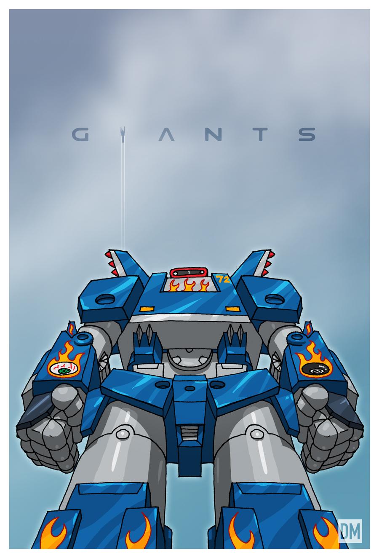 Giant - Megas XLR by DanielMead