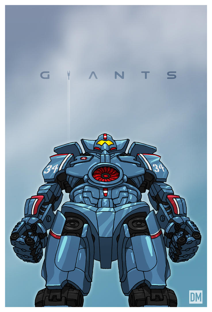 Giant - Jaeger Gipsy Danger by DanielMead