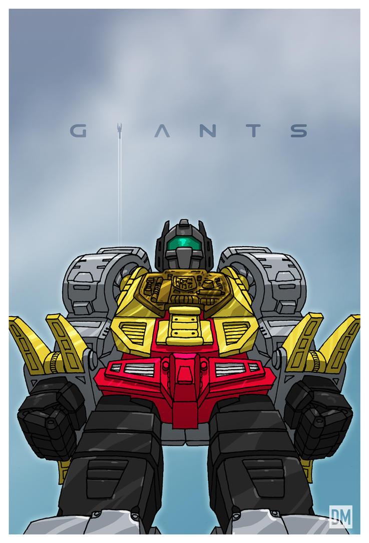 Giant - Grimlock by DanielMead