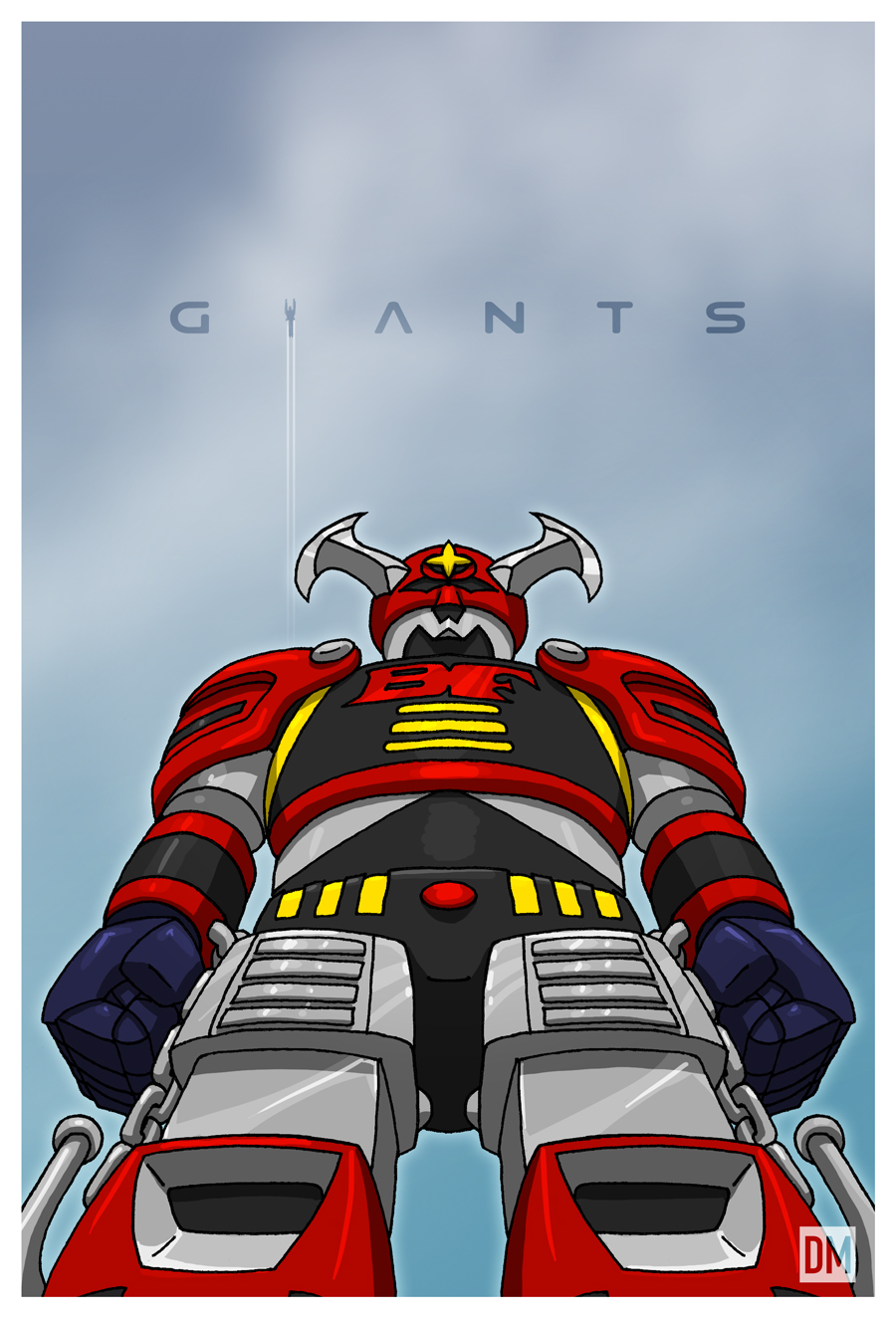 Giant - Battle Fever Robo by DanielMead
