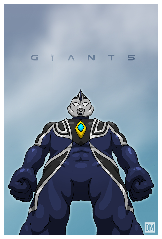 Giant Ultraman Agul by DanielMead