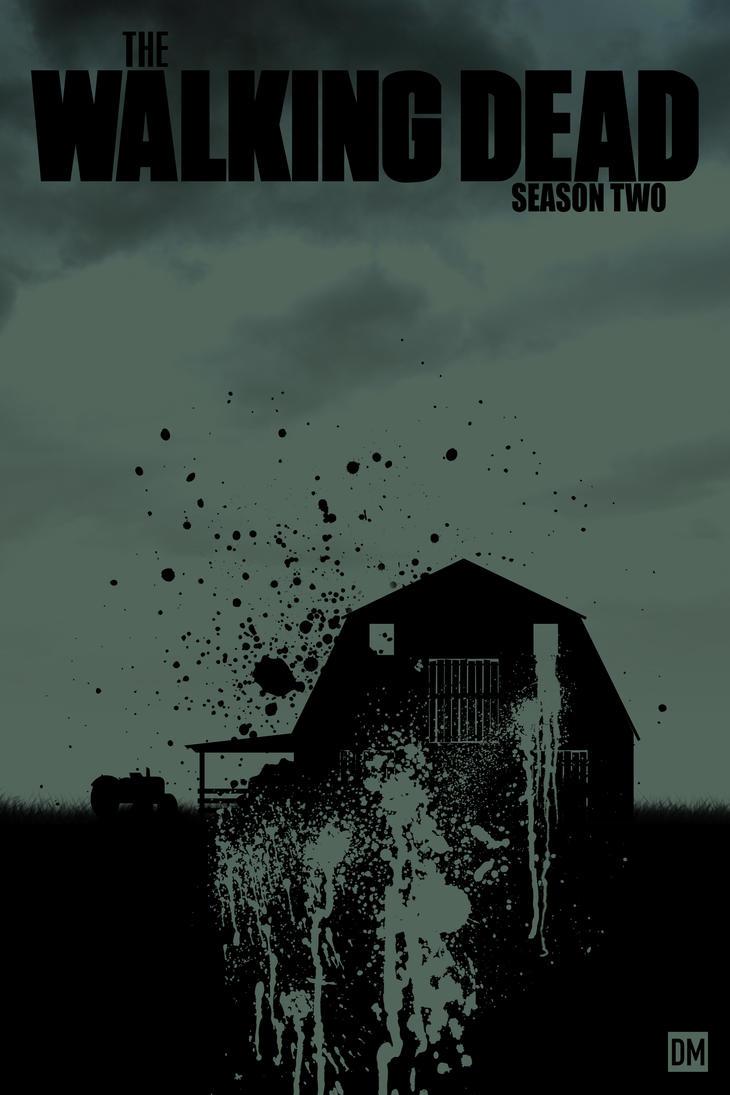 the walking dead season 2 poster by danielmead on deviantart. Black Bedroom Furniture Sets. Home Design Ideas