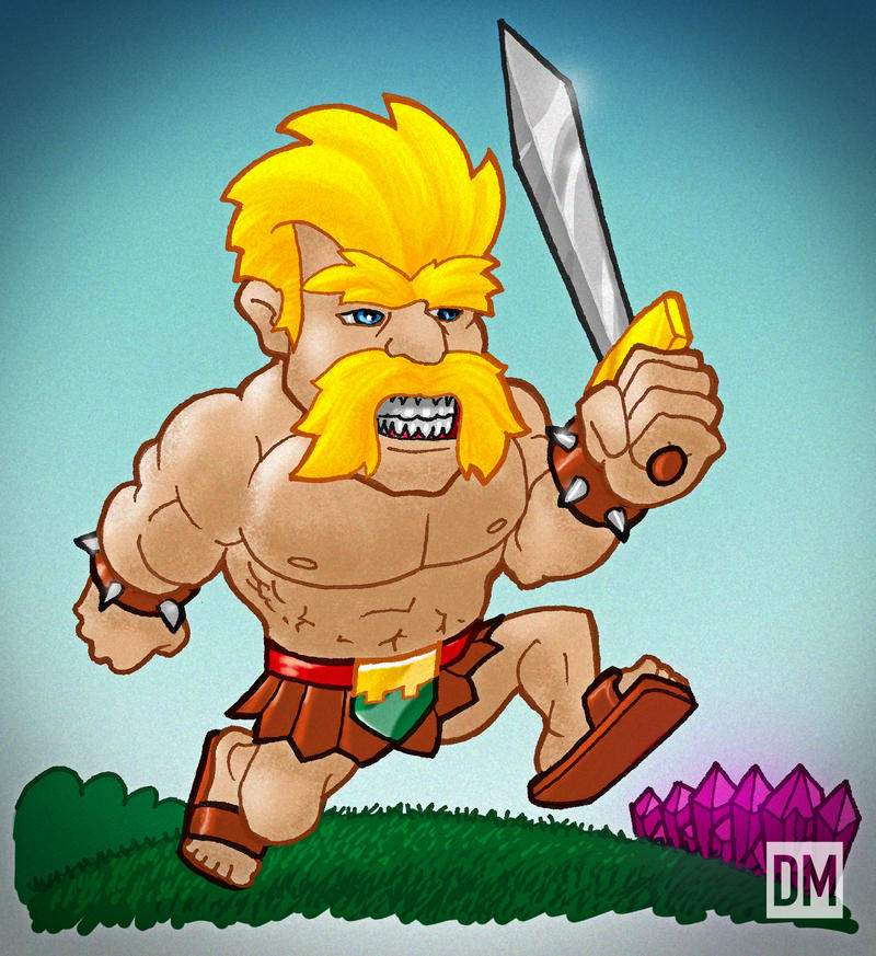 Clash Clans Barbarian King