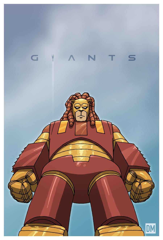 Giant - GR-1 Lionbot