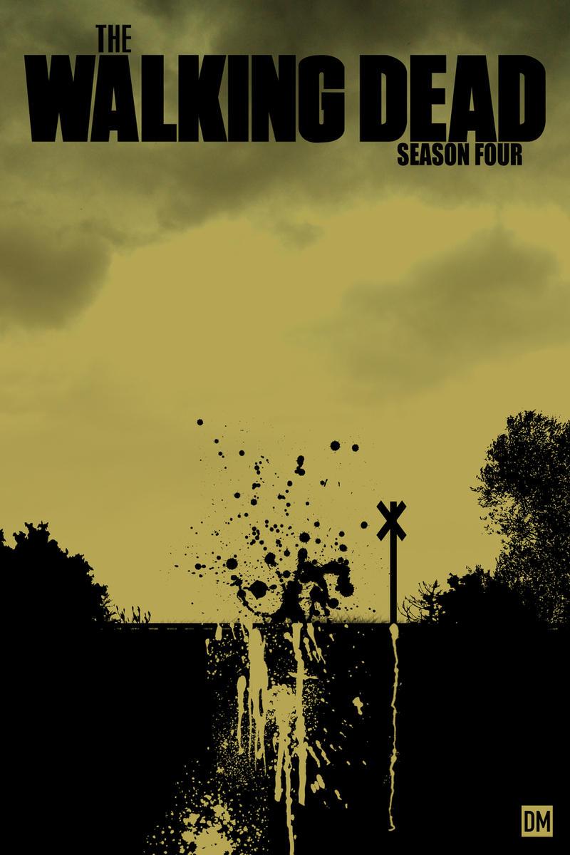 The Walking Dead Season 4 Poster by DanielMead on deviantART