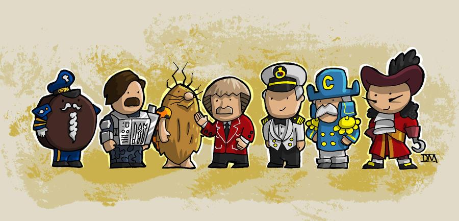 Captains by DanielMead