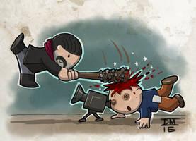 Negan killed 'em
