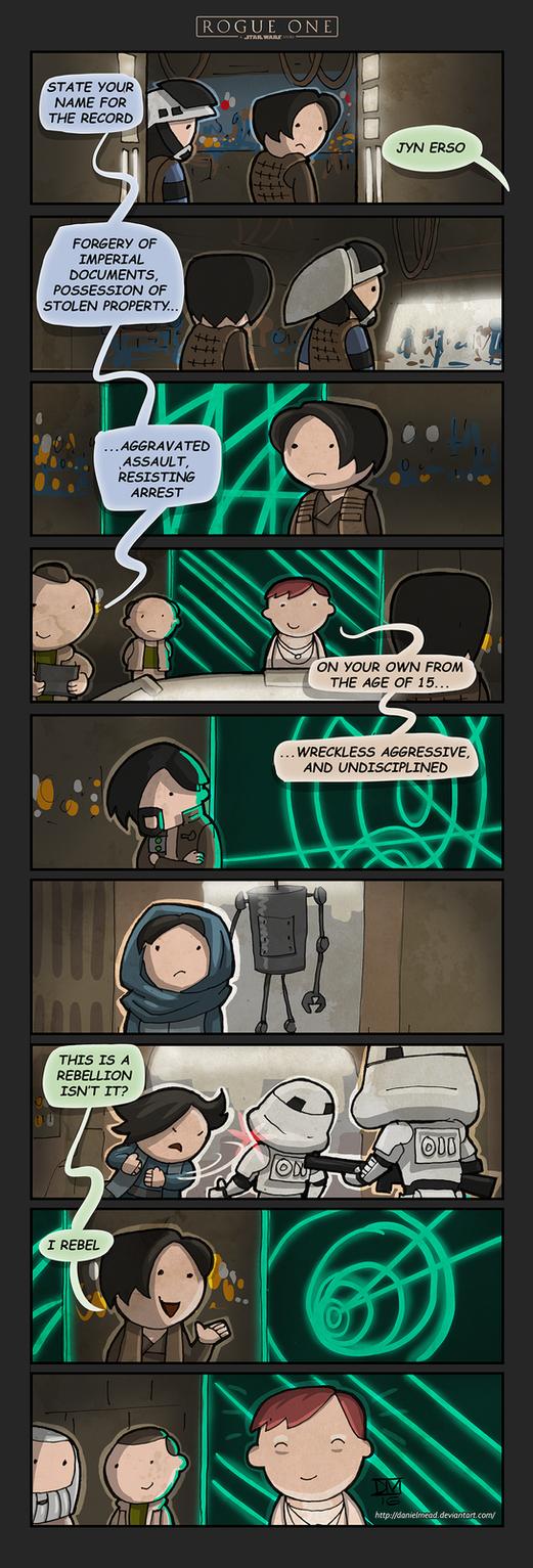 Rogue One Trailer - The Comic by DanielMead