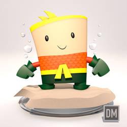 3D Aquman3D Aquaman by DanielMead