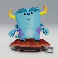 3D Sully (Blender) by DanielMead