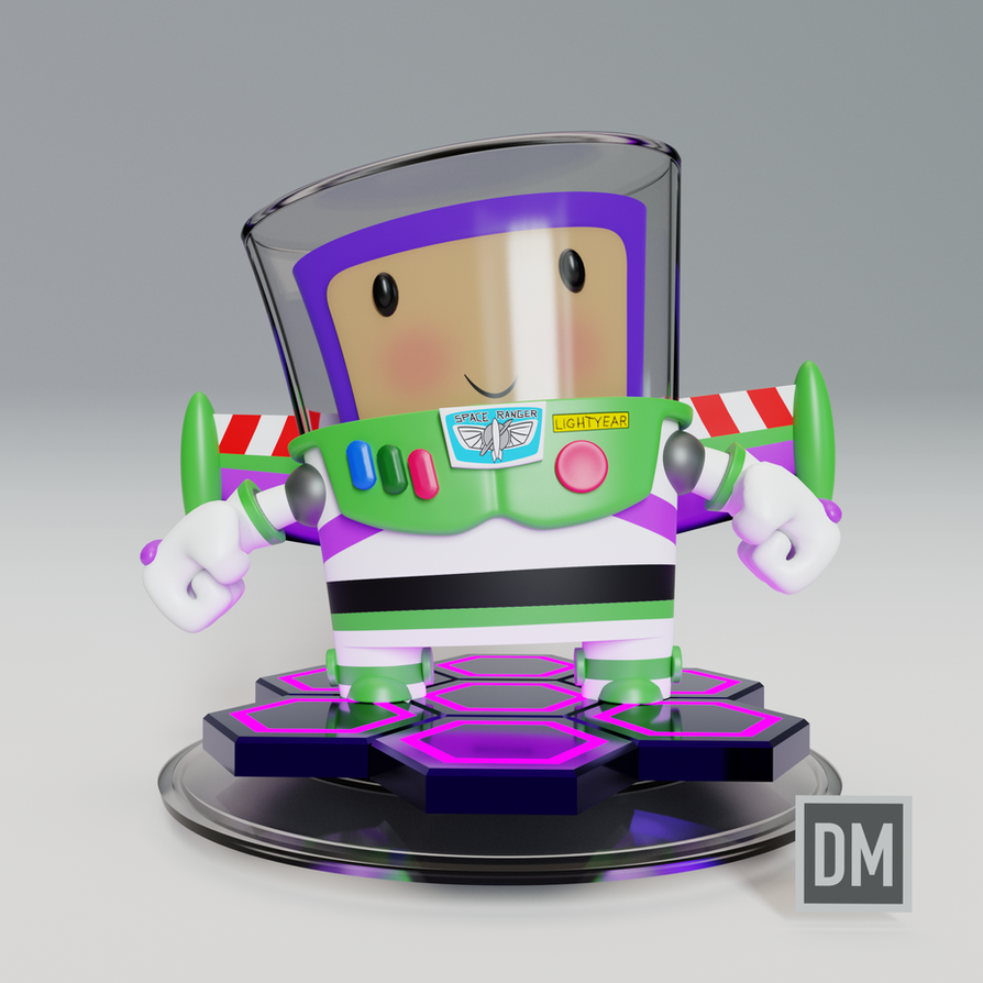 3D Buzz Lightyear by DanielMead