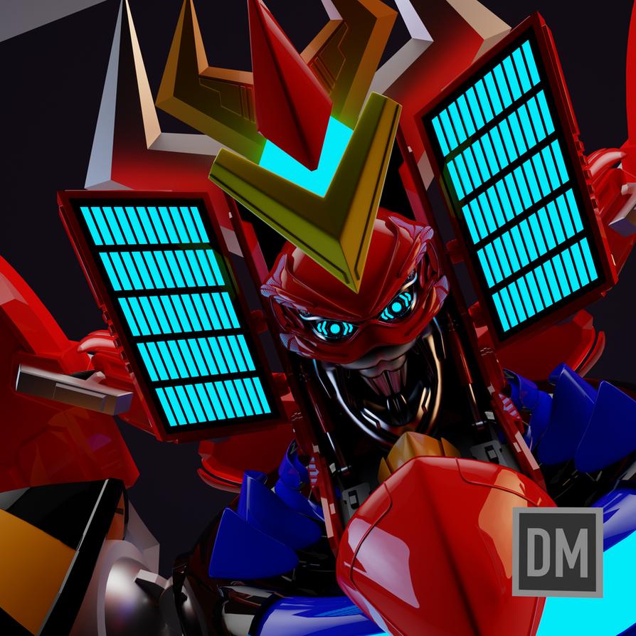 Frankie B Washington's RGA (Robot God Akamatsu) by DanielMead