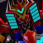 Frankie B Washington's RGA (Robot God Akamatsu)