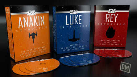 Skywalker Saga Blu-ray