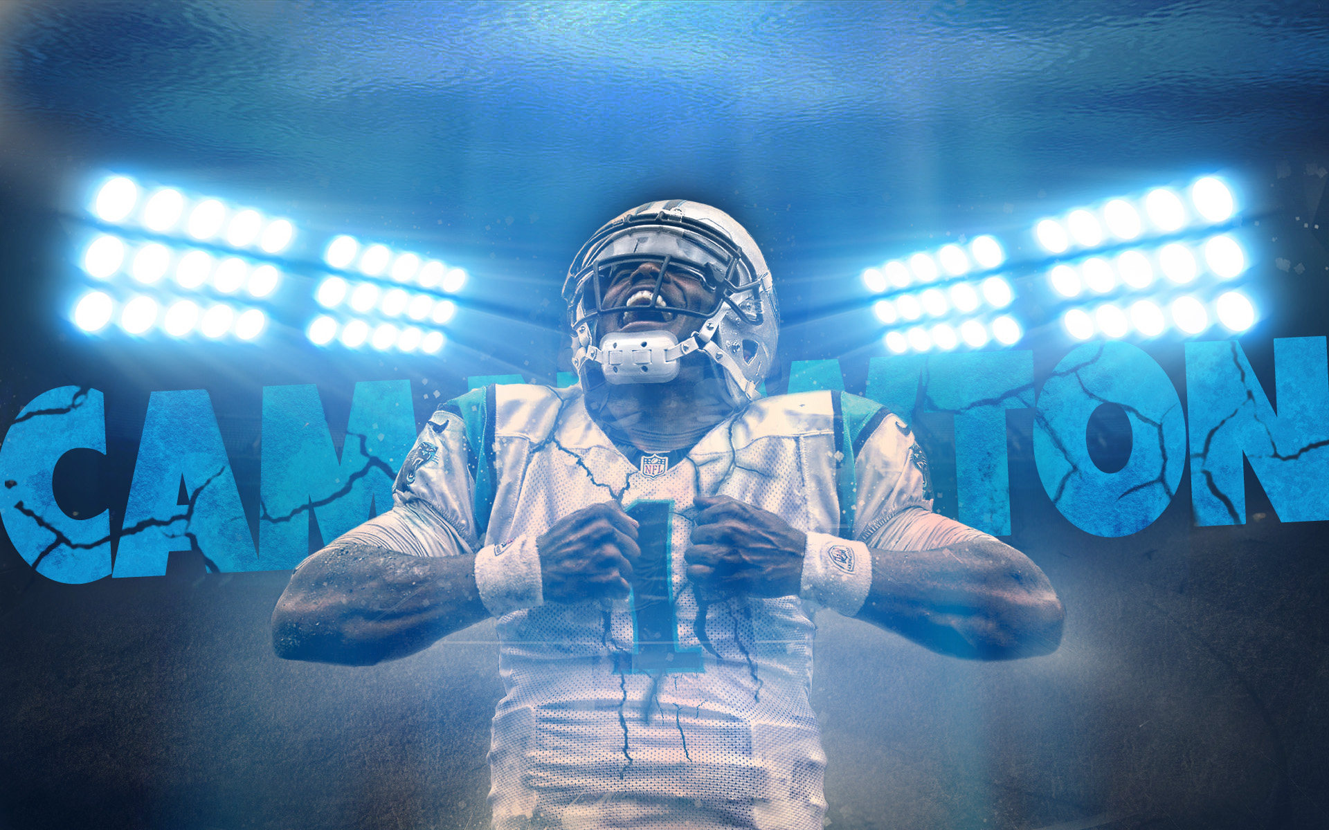 cam newton carolina panthers wallpaper by 31andonly on