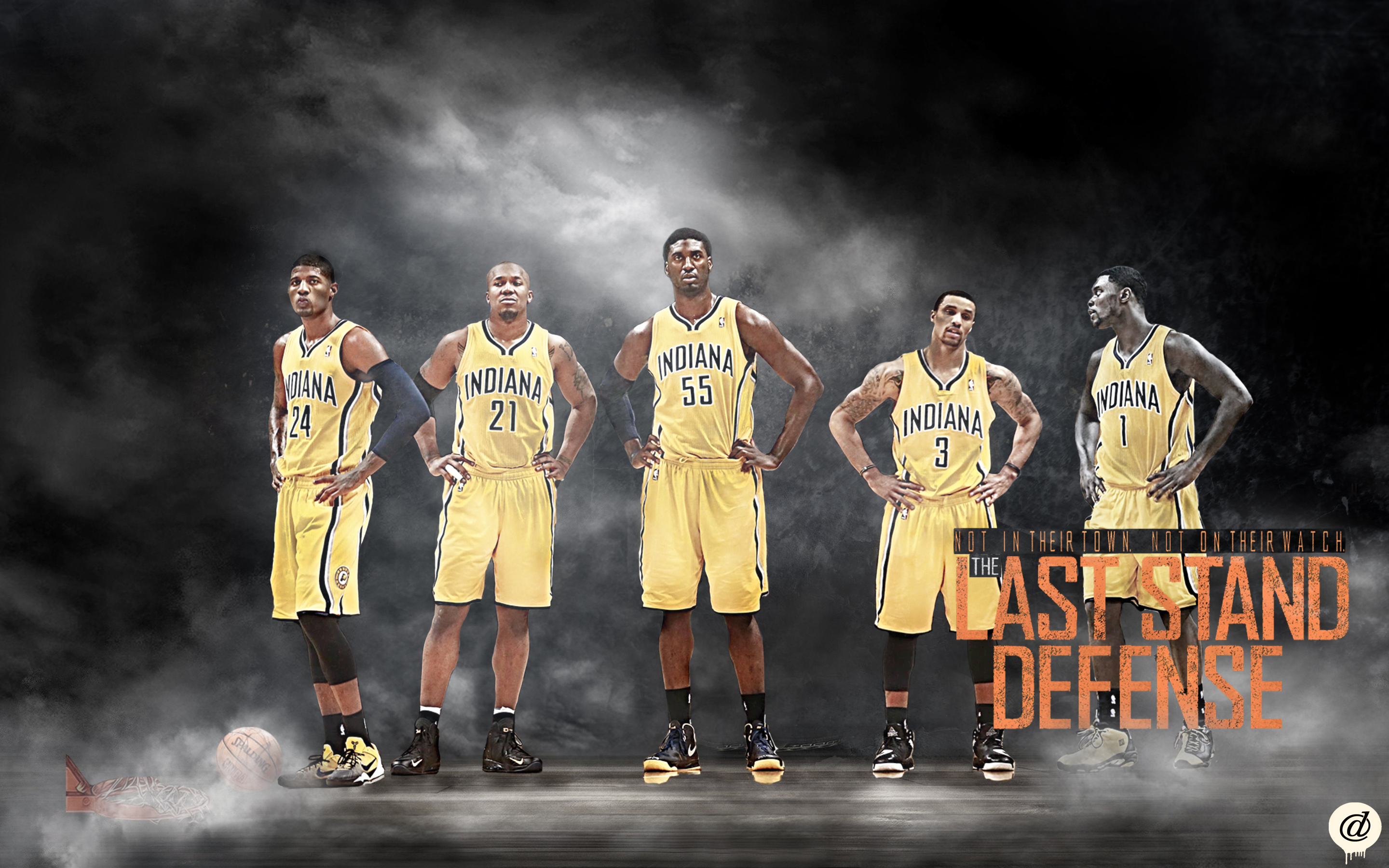 indiana pacers wallpaper by 31andonly on deviantart
