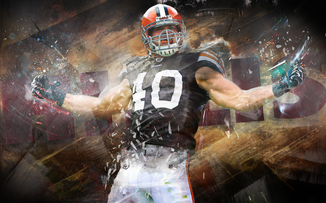 peyton hillis cleveland browns wallpaper by 31andonly on