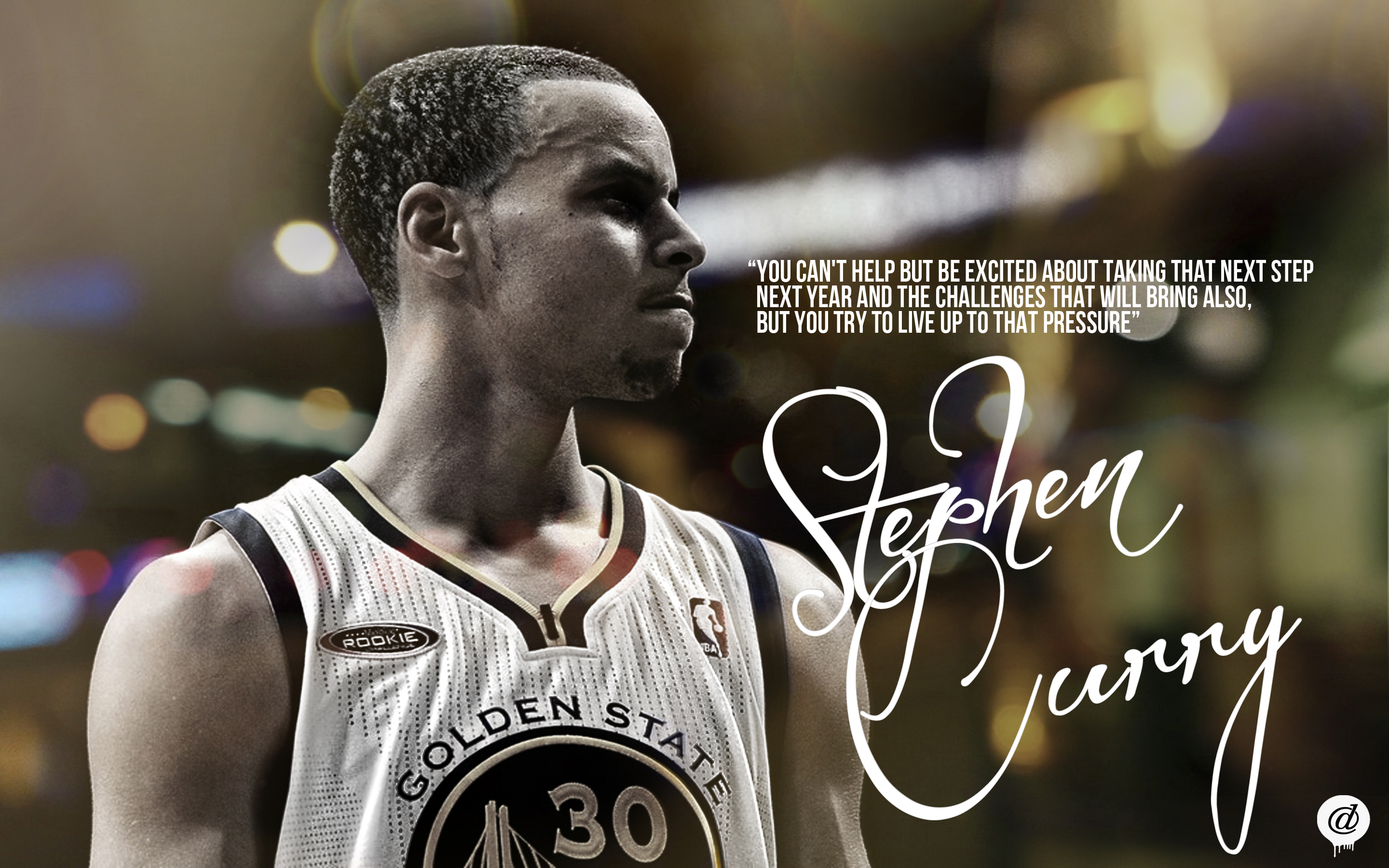 Stephen Curry Golden State Warriors Wallpaper By 31andonly On
