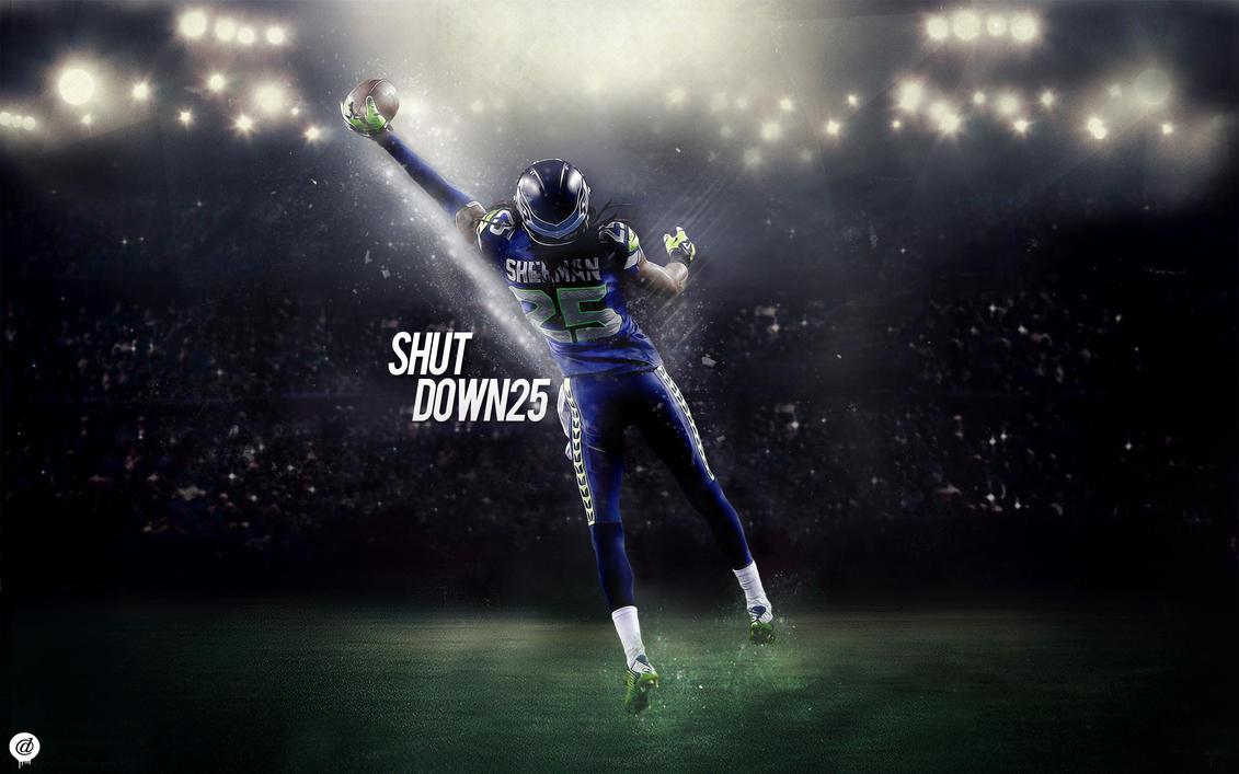 Richard Sherman Seattle Seahawks Shutdown25 By 31ANDONLY