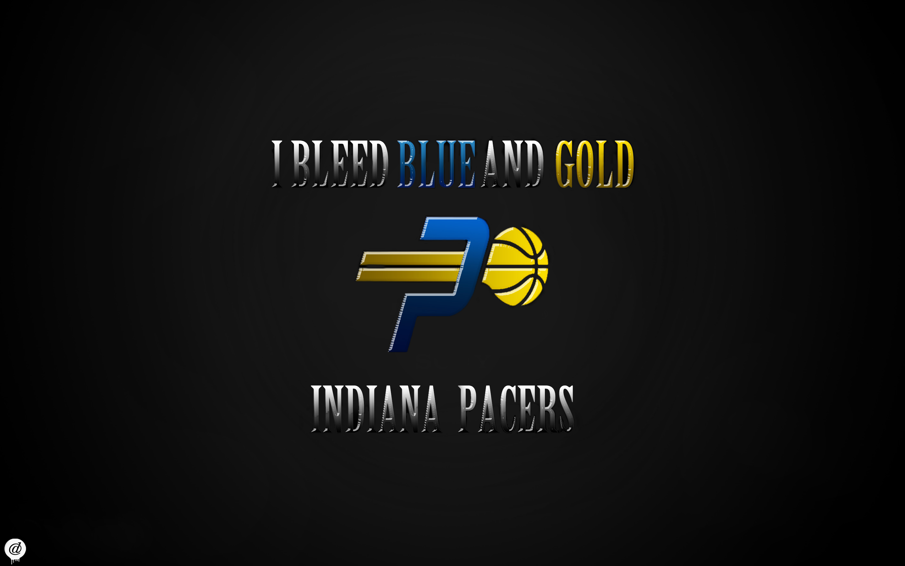 Indiana Pacers Wallpaper - I Bleed Blue and Gold by ...