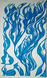 Blue by Lindsolar
