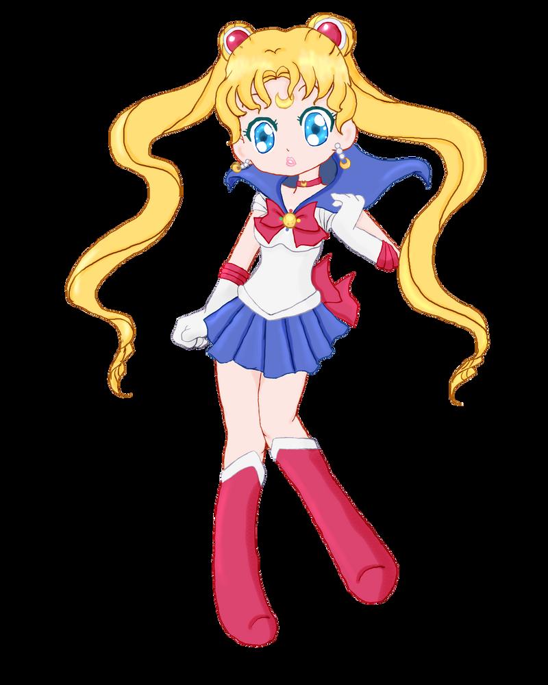 Chibi Sailor Moon by LLAP